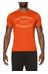 asics Sanded Graphic - Camiseta Running Hombre - naranja